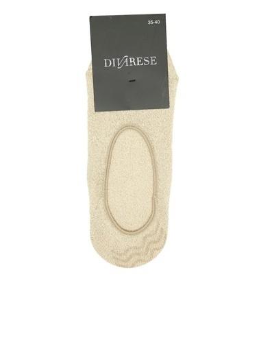 Divarese Divarese 5023465 Pudra Rengi Kadın Çorap Kadın Çorap Bej